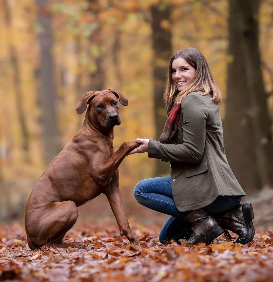 Tierphysiotherapeutin Selina Wandernoth